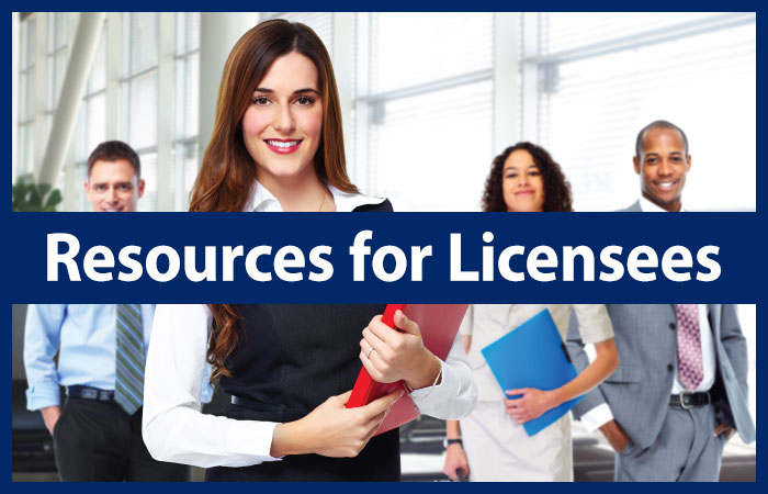 Resources for Licensees